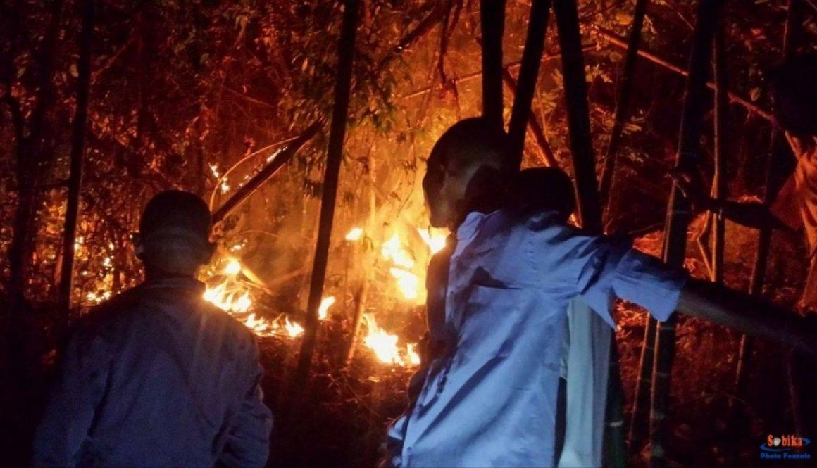 Nosy Komba : Le feu n'est pas maîtrisé