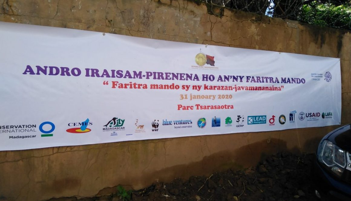 Célébration de la journée mondiale des zones humides à Madagascar  « Faritra mando sy ny karazan-javamananaina » 31 Janvier 2020, Parc Tsarasaotra