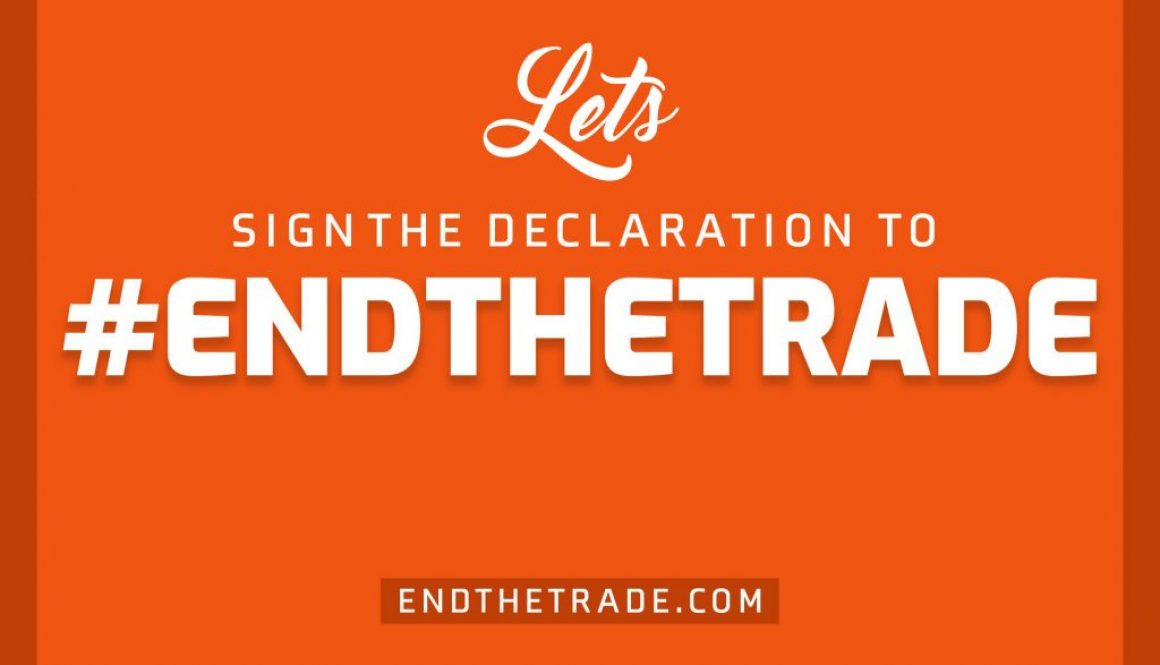 End the Trade, together we can