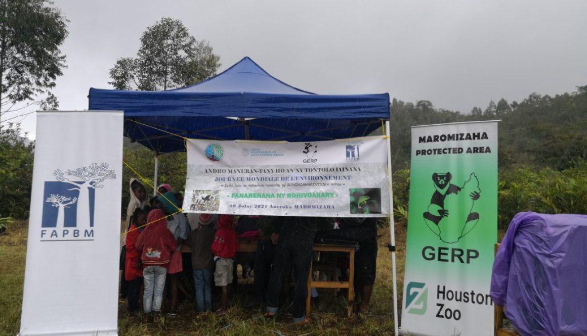 Célébration de la Journée Mondiale de l'Environnement à Maromizaha 2021